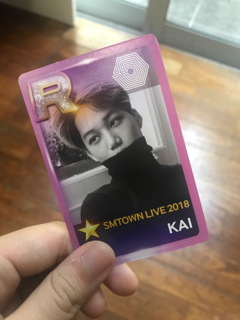 wts smtown osaka EXO Kai photocard
