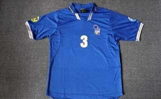 Italy Home Soccer Jersey Euro 96