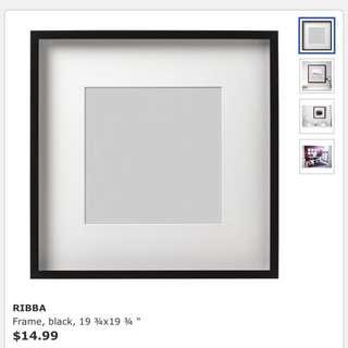 Ikea Ribba Photo Frame (50x50cm)
