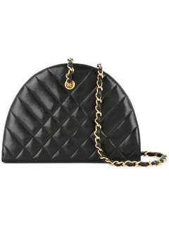 Vintage Chanel Half Moon Bag