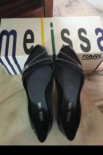 Melissa Trippy Karl Lagerfeld Flat (Limited Edition)