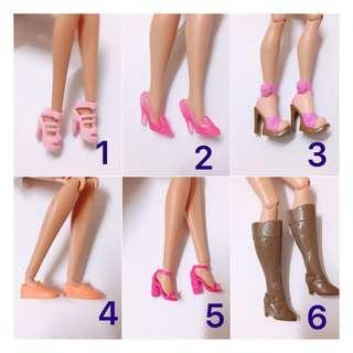Barbie Shoes SALE RM1 EACH Pair