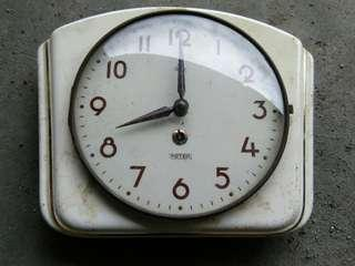 Peter wall enemal clock