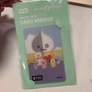 BT21 Card Mirror