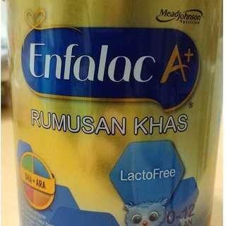 Enfalac A+ Lactofree 400g (Free Lactose) #XMAS25