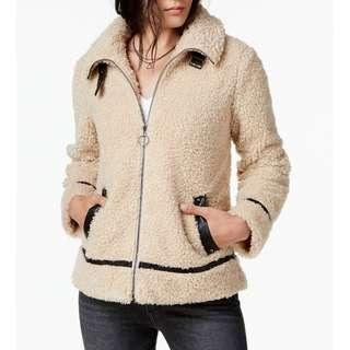 Steve Madden Faux Fur Teddy Jacket