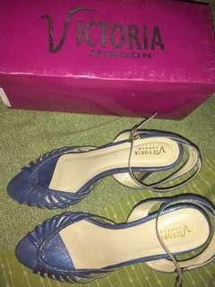 Blue Blink Shoes for Party Sz.38