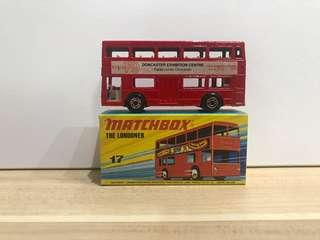 Matchbox 14 Londoner Bus Doncaster Exhibition