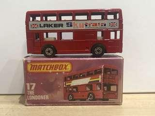 Matchbox 17 London Bus Laker
