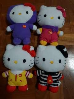 Hello Kitty Limited Edition Toys from Macdonalds