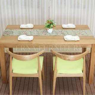 Jacobson American Oak Wood Dining Table