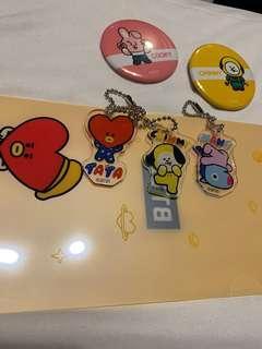 BT21 Cafe merchandise
