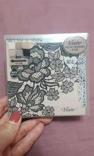 KOSE Visee 蕾絲幻彩眼影盤 GY-1煙燻粉紅