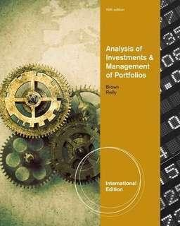 [INVESTMENT] Analysis of Investment & Management of Portfolios-International Edition