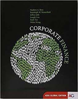 Corporate finance-Asia Global Edition