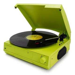 我的時尚《Looptone黑膠唱片機》交換禮物 /支援藍芽音樂撥放