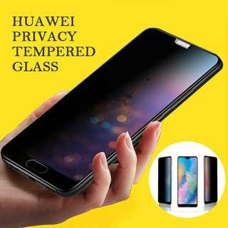 Anti Peeping Tempered Glass for Huawei