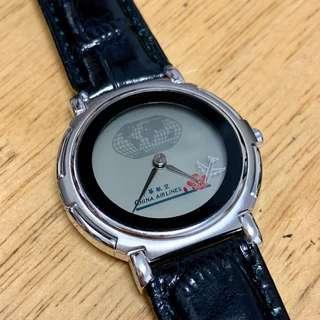🚚 全新 官方正版 華航 分鐘環球 自動變換錶面 手錶 絕版品