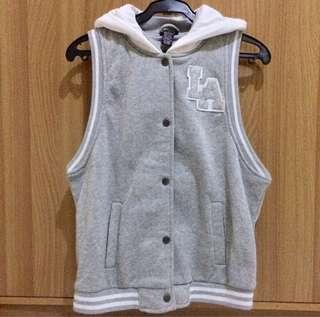 Sleeveless Varsity Jacket
