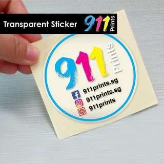 Sticker - Design & Print