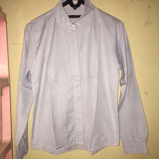 Blue stripe shirt by lunart