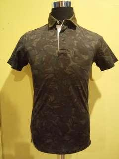Mackintosh philosophy camo polo shirt