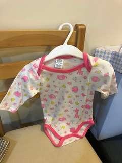 🚚 美國帶回3~6個月寶寶長袖包屁衣 嬰兒服