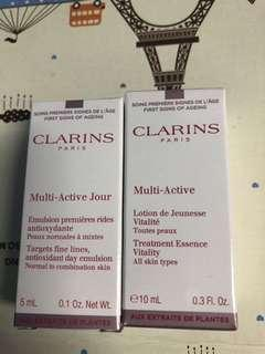 Clarins sample set