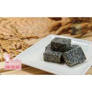 🚚 BOBO手感烘焙-純手工(牙品香)芝麻牛軋糖 約170g / 1罐-免運