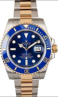 WTB Rolex Submariner 116613LB
