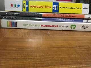 Upper Secondary Textbook and assessment books