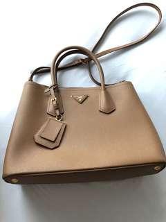 REPOST: Prada Double Bag