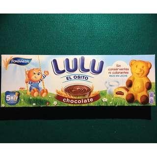 🚚 預購🇪🇸 LULU可可小熊夾心蛋糕 小熊造型 進口零食 適合小孩的甜點 LULU 小蛋糕 西班牙代購
