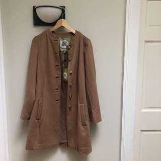 Elizabeth McKay nwt wool coat - size 6