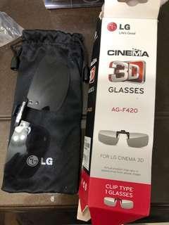 LG 3D clip on 鏡片
