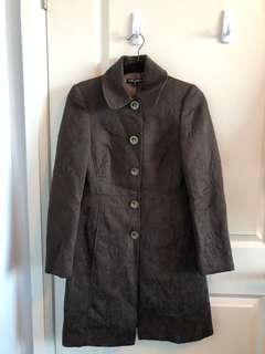Brown Ladies Coat - Size 2