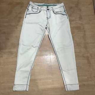 Crissa Light washed Skinny jeans