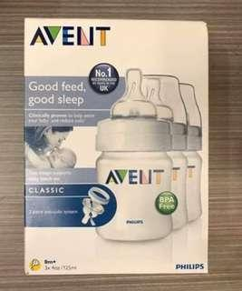 Avent classic set of 3