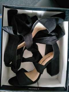 Wide fit heels size 9