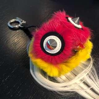 Fendi Fur Bug Bag Charm