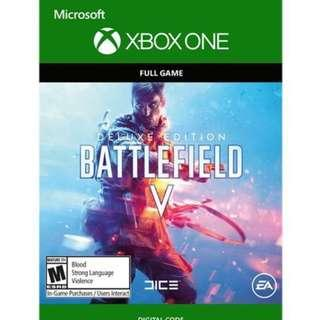 Battlefield V Digital Deluxe Edition (Xbox One)