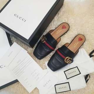 Gucci GG MULES LEATHER SHOES