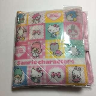 Japan Tokyo Sanrio Characters 小銀包 包一條毛巾 Marron Cream PC狗