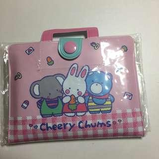 Japan Tokyo Sanrio Cheery Chums 小銀包 包貼紙
