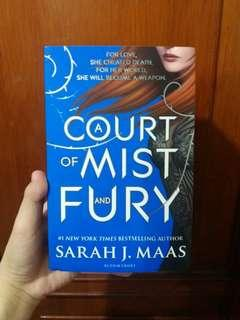 A Court of Mist and Fury by Sarah Maasa