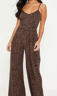 Brand new with tags PLT Leopard jumpsuit