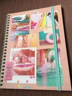 A5 typo cute notebook