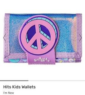 💖SALE!!!💖 Authentic Smiggle Peace Hits Kids Wallet