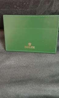 Rolex 咭套 全新