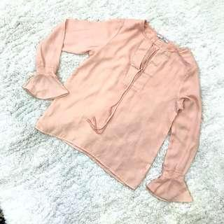 ZALORA PEACH TOP #PayDay30